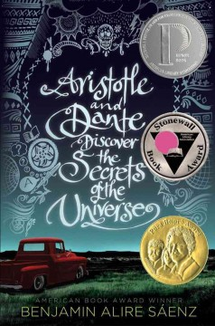 Bookjacket for  Aristotle and Dante Discover the Secrets of the Universe