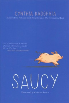Bookjacket for  Saucy