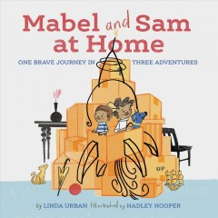 Bookjacket for  Mabel and Sam at home