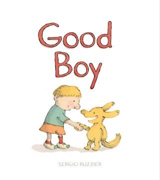 Bookjacket for  Good boy
