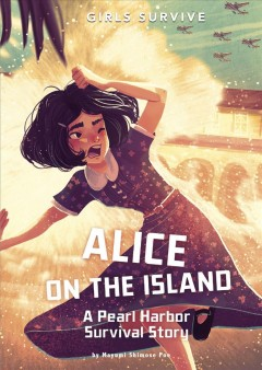 bookjacket for Alice on the island