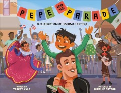 bookjacket for Pepe and the parade