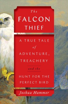 Bookjacket for The falcon thief
