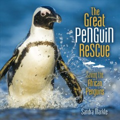 Bookjacket for The great penguin rescue