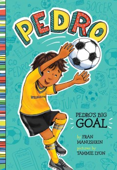 Bookjacket for  Pedro's Big Goal