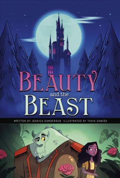 Bookjacket for  Beauty and the Beast