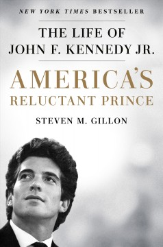 Bookjacket for  America's reluctant prince