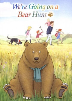 Bookjacket for  We're going on a bear hunt
