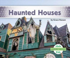 bookjacket for Haunted houses