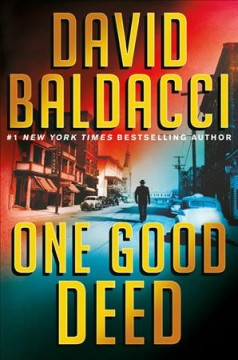 Bookjacket for  One good deed