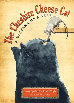 Bookjacket for The Cheshire Cheese Cat : a Dickens of a Tale