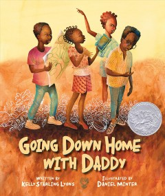Bookjacket for  Going down home with Daddy