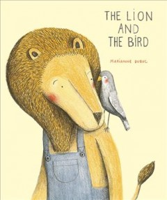 Bookjacket for The Lion and the bird