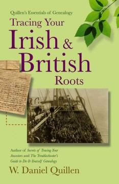 Bookjacket for  Tracing your Irish & British roots