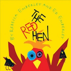 Bookjacket for The Red Hen