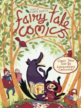 Bookjacket for  Fairy Tale Comics