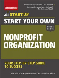 Bookjacket for  Start Your Own Nonprofit Organization