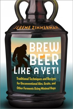 bookjacket for Brew beer like a yeti