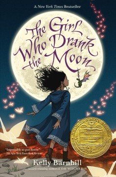 Bookjacket for The Girl Who Drank the Moon