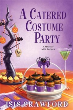 Bookjacket for A catered costume party