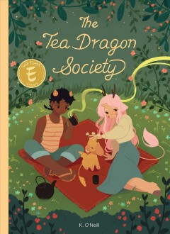 Bookjacket for The tea dragon society