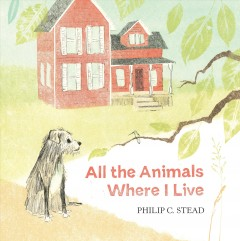 Bookjacket for  All the animals where I live