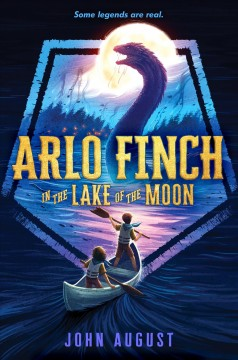 Bookjacket for  Arlo Finch in the lake of the moon