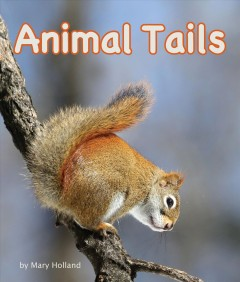 Bookjacket for  Animal Tails