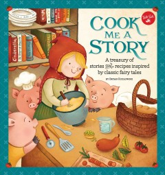 Bookjacket for  Cook Me a Story