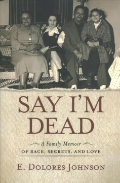 Bookjacket for  Say I'm dead