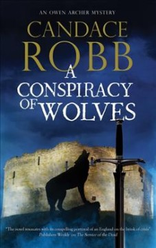 Bookjacket for A conspiracy of wolves