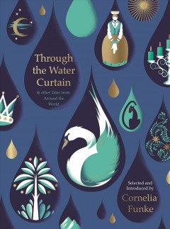 Bookjacket for  Through the water curtain