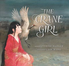 Bookjacket for The crane girl