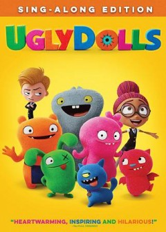 Bookjacket for  Ugly dolls