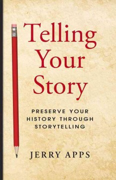 Bookjacket for  Telling your story