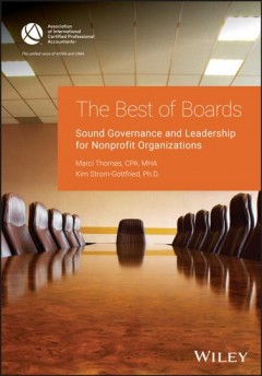 Bookjacket for  The best of boards : sound governance and leadership for nonprofit organizations