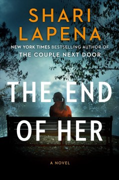 Bookjacket for The end of her