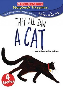 Bookjacket for  They all saw a cat