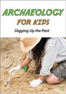 bookjacket for Archaeology for kids