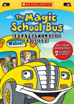 bookjacket for The magic school bus