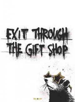 bookjacket for Exit Through the Gift Shop