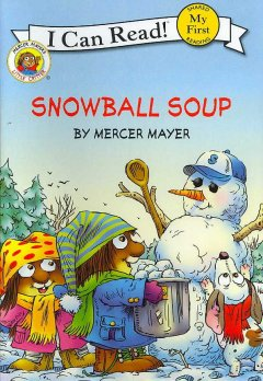 Bookjacket for  Snowball soup