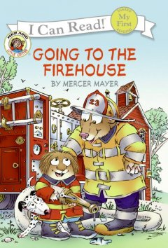 Bookjacket for  Going to the firehouse