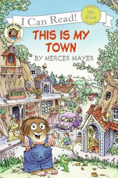 Bookjacket for  This is my town