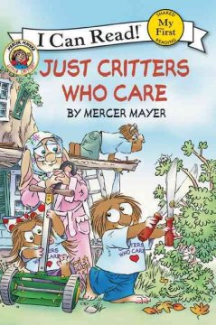 Bookjacket for  Just critters who care