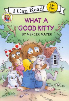 Bookjacket for  What a good kitty