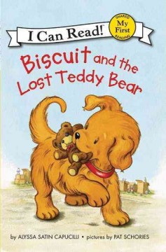 Bookjacket for  Biscuit and the lost teddy bear