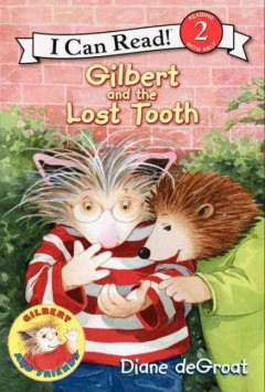 Bookjacket for  Gilbert and the lost tooth