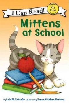 Bookjacket for  Mittens at school