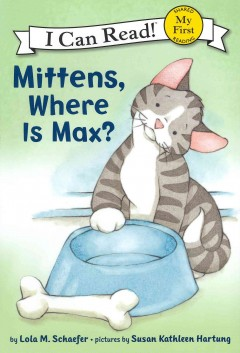 Bookjacket for  Mittens, where is Max?